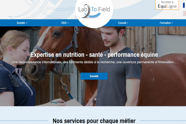 Partenariat avec LAB TO FIELD